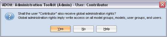 Assign Global Administration Rights