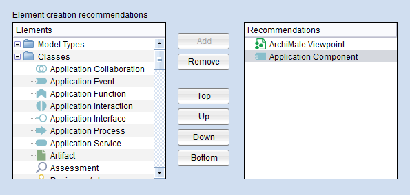 + New: configure recommendations